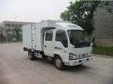 Isuzu 4X2 5 Ton Mini Van Cargo Truck com Double Row Cabin
