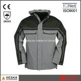 Waterproof Jacket Nylon Segurança do Trabalho dos homens