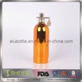 Алюминиевая косметическая бутылка с покрытием вакуума