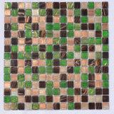 Azulejo de mosaico de cristal de cerámica de la piscina del cuarto de baño