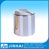 20/410 28/415 de tampão de prata da parte superior do disco do metal galvaniza a tampa do champô