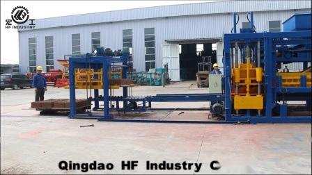 Qt10-15 bloquer la machine à glace Automatico automatique machine à fabriquer des blocs de béton de ciment Le ciment de la brique de la Chine