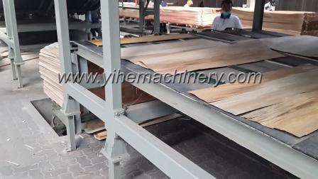 آلة تجفيف من نوع حزام الشبكة Veneer لصنع الخشب الرقائقي آلات العمل الخشبية