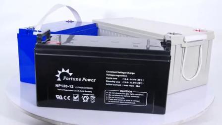 Oplaadbare lithiumbatterij met diepe cyclus, 12 V, 100 ah