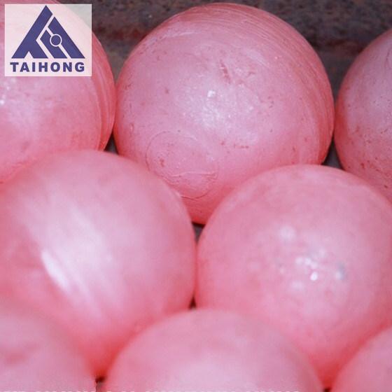 50 mm gesmede stalen kogel met laag breukniveau voor mijnbouw uit Taihong