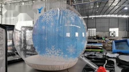 膨張式 Photo Booth Snow Globe for Sales