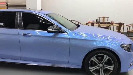 Табличка автомобиля аксессуары глянцевая конфеты серого цвета синий хамелеон виниловая пленка