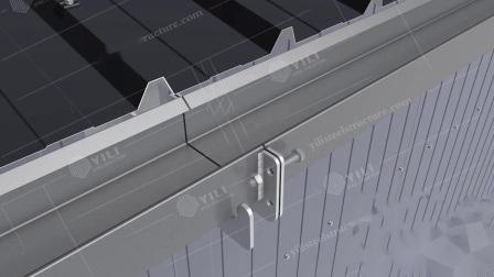 Magazzino della struttura d'acciaio della costruzione di edifici del blocco per grafici della Cina di basso costo in Europa