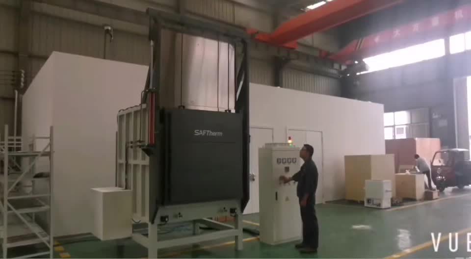 1200 度産業用電気炉の販売