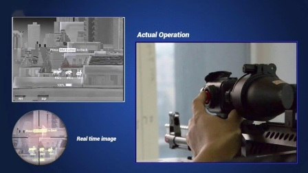 Leggero sistema di imaging termico clip on Scope per riprese notturne