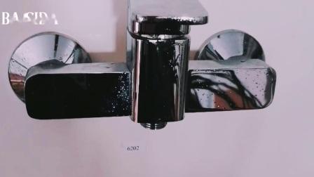 Miscelatore quadrato semplice del rubinetto dell'acquazzone della singola maniglia