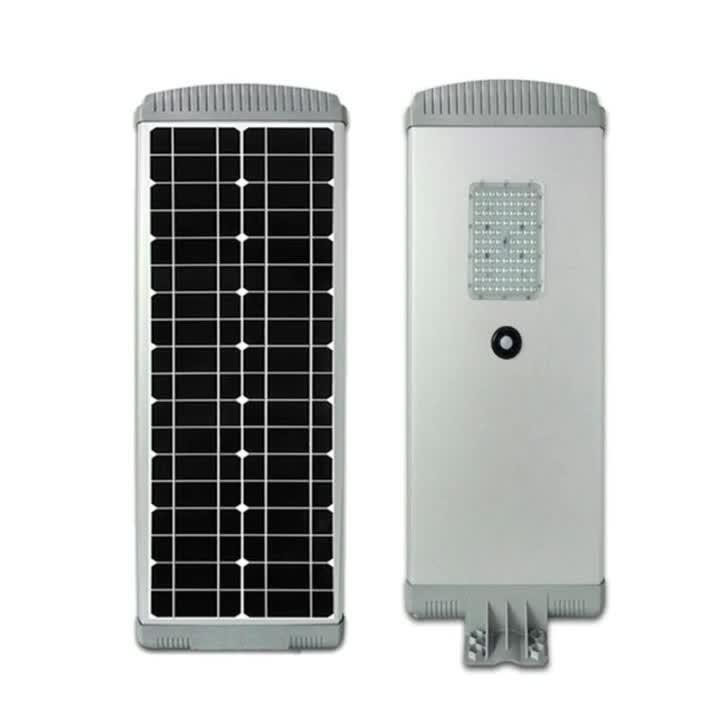 Lampada esterna IP65 tutto di illuminazione della carreggiata del giardino in un indicatore luminoso di via Integrated di energia solare LED 20With30With40With60With80With100With120W con il sensore