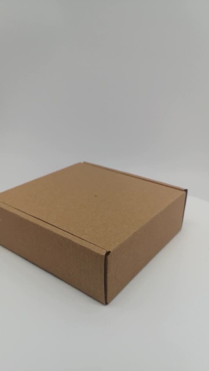 Verpakkende Doos van het GolfKarton van de douane de Vouwbare