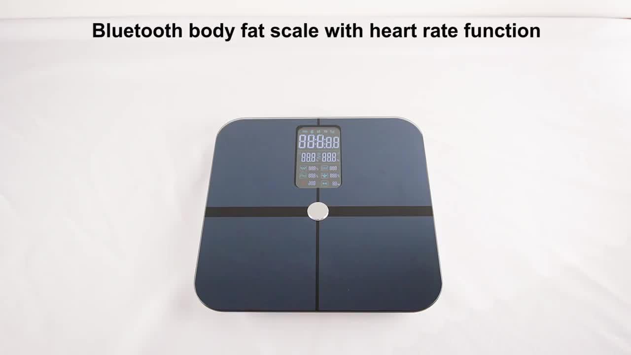 Bluetooth Body Analyzer voor hot sales schalen met meerdere lichaamsgegevens