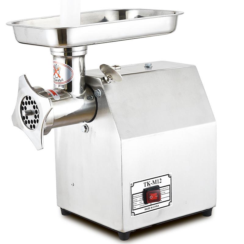 Elektrische commerciële roestvrijstalen Mince Mutton Slicer Snijmachine Mini Domestic Industrial Kitchen Frozen Butchers machine Meat Processing Grinder