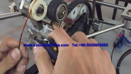 Automatische mittlere Ringspule Wicklungsmaschine (Endspule OD 10~80mm) Jovil Ringwickler (SS900B6) austauschen