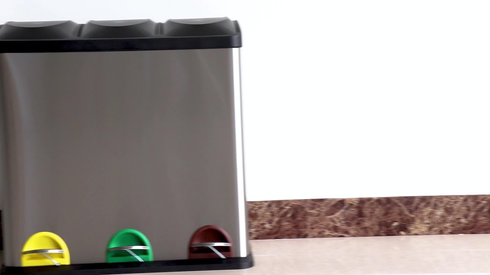 Hot Selling Amazon Kitchen Household Recycle Bin