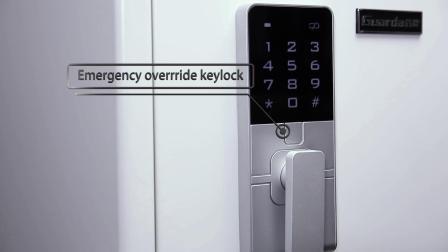 Guarda 3091wst-Bd Caja de seguridad ignífuga y resistente al agua segura UL72-350 Bloqueo digital con pantalla táctil de 2 horas 0.91 pies cúbicos (blanco)