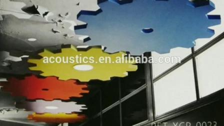 Schallschutzmaterial Architektonisch Dekorative Polyesterfaser