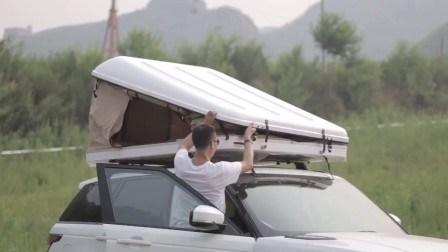 Кроссовер палатка кемпинг Кемпинг из стекловолокна жесткий корпус палатку на крыше автомобиля