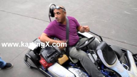 Venda por grosso de alimentação de fábrica Racing Crazy Buggy Go Kart 200cc