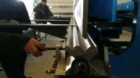 6m placa metálica de tubo de la hoja de máquina de doblado CNC hidráulica