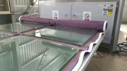 3 capas de hornos de laminación de vidrio