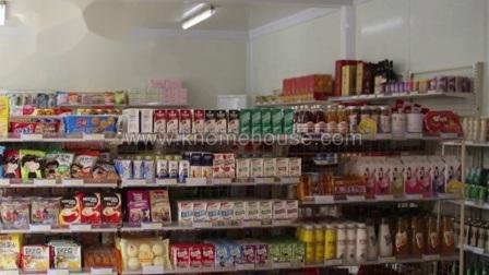 Prelab portátil de bajo coste campo conveniente Tienda de contenedores cafetería