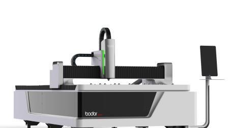 Faserlaser-Schneidemaschine Cutter Edelstahl Carbon 1000W