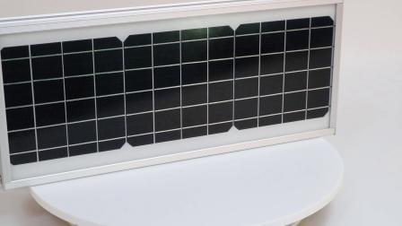 IP65 Regensichere Straßenbeleuchtung im Freien All in One Solar Light