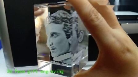 3D Crystal Graving machine Inner machine voor cadeaus en foto's