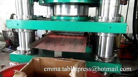 Pressa idraulica ad pastiglie da 800 tonnellate