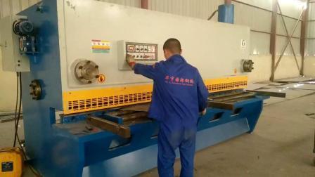 China proveedor QC11y6*2500 Manual de la serie hidráulica Máquina de esquila de lámina metálica