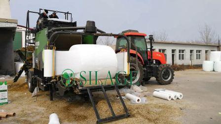 Gekwalificeerd gemaakt in China 750mm White Silage Bale Wrap voor VS