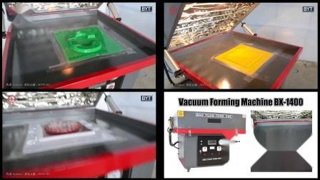 BX-1400 4 * 4 wirtschaftliche Vakuum-Formmaschine für Acryl PVC-Haustier ABS