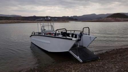 Bestyear 13м 42FT алюминиевые лодки Десантный катер передачи груза на лодке со стороны пассажира
