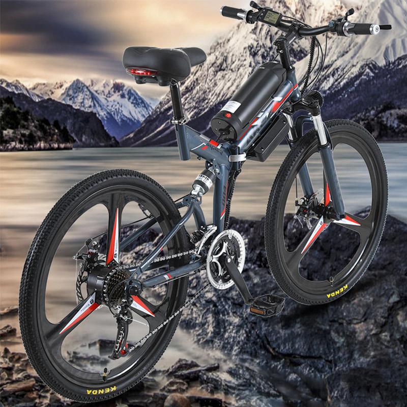 Voller Aufhebung-Gebirgselektrisches Fahrrad mit Rahmen-High-Carbon Stahl