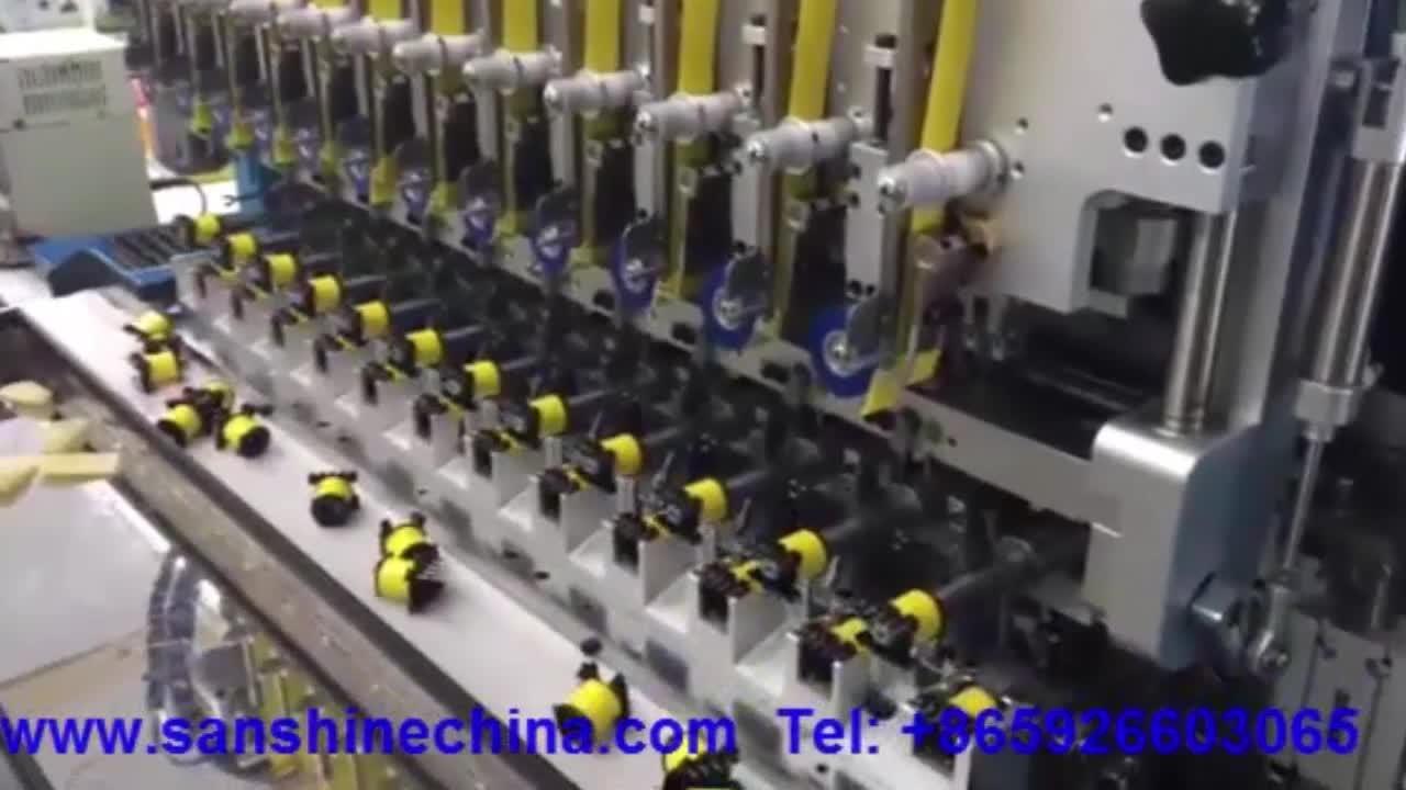 16 Spindeln Vollautomatische Induktor-Spulenwickelausrüstung