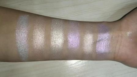 OEM Cosmetics Palette Shimmer Mashed Potato Face Jelly Highlighter Makeup