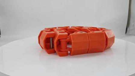 標準エンジニアリング新しいカラーコンベアベルト POM プラスチックローラーチェーン