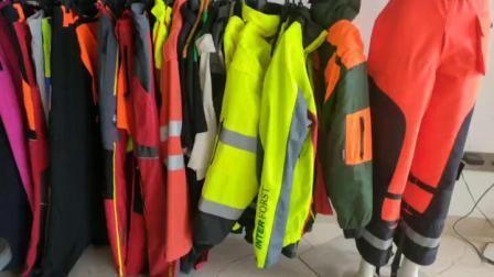 Ciao rivestimento riflettente blu rosso su ordinazione di sicurezza del nero 3m di sicurezza di forza dei vestiti di obbligazione respirabile impermeabile del Mens