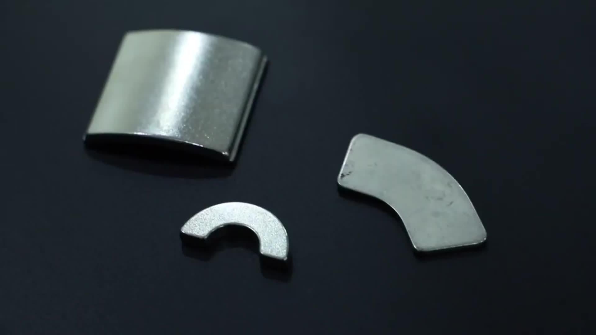 Китай пользуйтесь функцией настройки качества Arc NdFeB магниты для изготовления двигателя