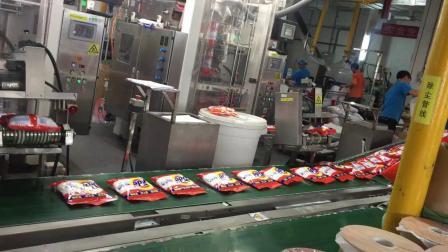 Volledig automatische productielijn voor Turnkey-wasmiddelen