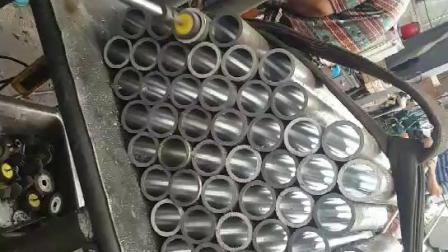 Ck45 endurecidos por inducción de cromo duro vástago del pistón
