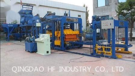 Qt10-15 Prix machine à fabriquer des blocs de béton hydraulique au Pakistan