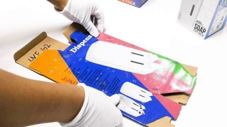 Fabrik-Preis-kundenspezifischer Karton, der aufbereiteten materielle flache Verpackungs-gewölbten Verschiffen-Werbungs-Kasten verpackt