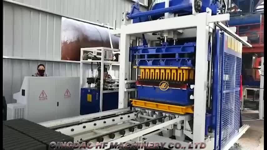 T10 La technologie allemande Bloc de grande capacité de faire de la ligne de production machine à briques