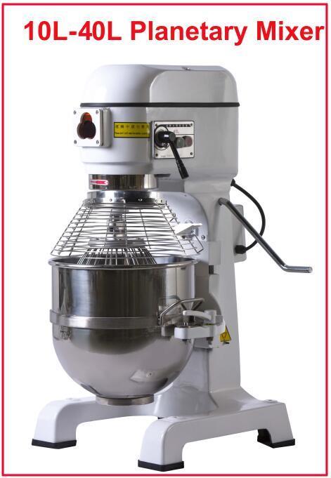 Food machine Cake Mixer Food Mixer, roestvrij staal 40L Elektrische Pastry Mixer
