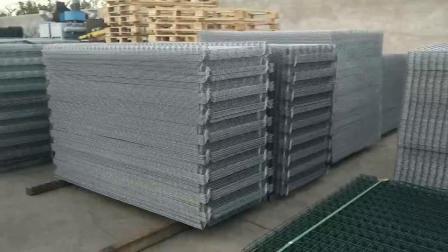 Il PVC ha ricoperto la rete fissa proteggente di Secutiry della maglia di Wirei saldata strada principale
