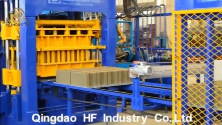 Qt10-15 hydraulique automatique machine à fabriquer des blocs de béton solide en maçonnerie creux